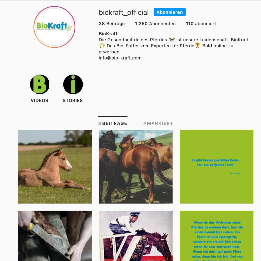 social media content erstellung instagram facebook